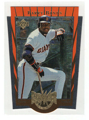 1997 Upper Deck Power Package #PP16 Barry Bonds / San Francisco Giants / NM-MT