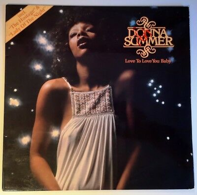 Donna Summer ‎– Love To Love You Baby Vinyl Album