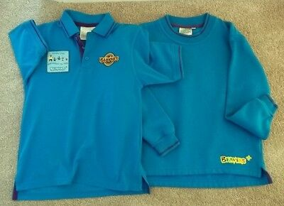 Used official Beaver uniform jumper and polo shirt 26