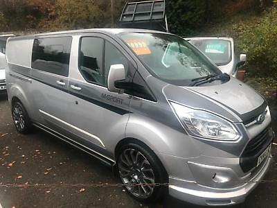 2014 14 Ford Transit Custom 125PS 290 L2H1 LWB / LIMITED CREWCAB M - SPORT STYLE