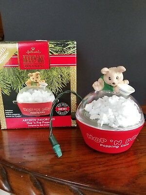 "Hallmark Magic Motion""Hop N Pop"" Keepsake Ornament"