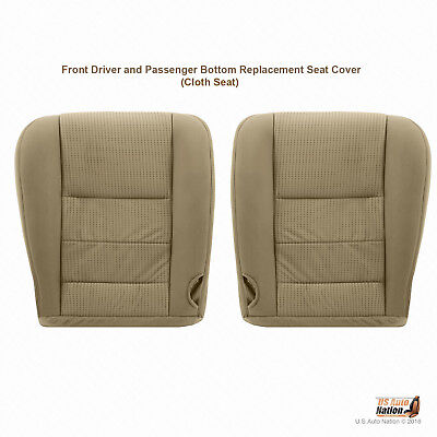 2008 TO 2010 Ford F250 F350 F450 DRIVER & PASSENGER Bottoms Cloth Cover Camel