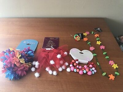 Girl's Hair And Jewelry Accessories Lot