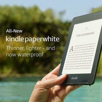 Kindle Paperwhite  2018 8GB , Waterproof and twice the storage ,Built-In Audible