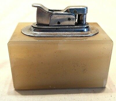 1935 Evans Trig-a-lite Polished Stone Lighter