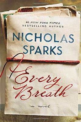 Every Breath by Nicholas Sparks Hardcover 16OCT 2018 1538728524 Free Shiping NEW