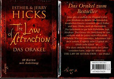 The Law of Attraction - Das Orakel - Orakelkarten Gesetz der Anziehung NEU OVP