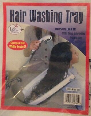 Hair Washing Tray - Shampoo Hair While Seated - New in Package