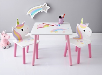 Astounding Personalised Childrens Kids Ikea Table And Chairs 2 Names Gmtry Best Dining Table And Chair Ideas Images Gmtryco