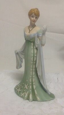 "CelebratiHome Interior Homco""Amelia""Porcelain Lady Figurine"""