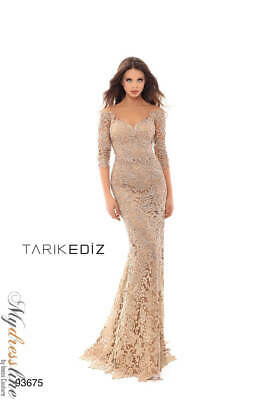 93a4caf2488 Tarik Ediz 93675 Evening Dress ~LOWEST PRICE GUARANTEED~ NEW Authentic Gown