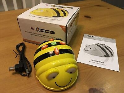 Bee Bot - Programmable Floor Robot - Rechargeable - Beebot is in Mint Condition!