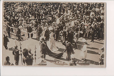 Vintage Postcard King George V & Queen Mary of United Kingdom Prince of Wales