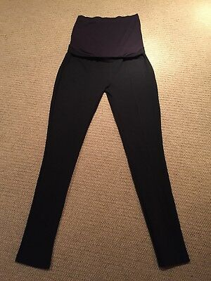 Seraphine Tailored Black Maternity Trousers Size 12