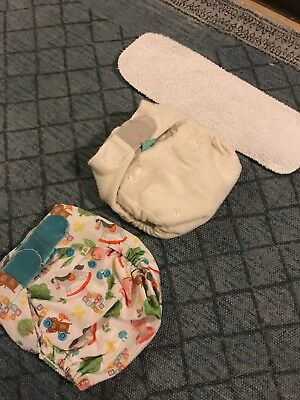 Tots bots Bamboozle Stretch Size 2 with Royal Baby Wrap And Fleece Liner