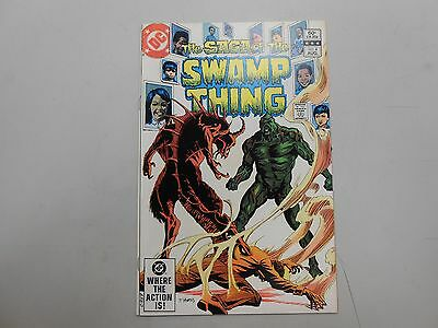 The Saga of the Swamp Thing #4 (1982, DC)! VF/NM9.0+! Late Bronze age DC beauty!