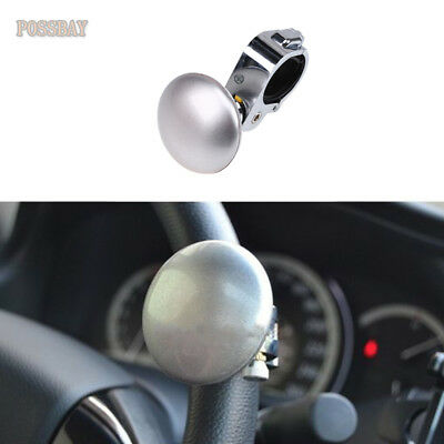 Sporting Car Truck Steering Wheel Aid Power Handle Assister Spinner Knob Ball Black Electric Vehicle Parts