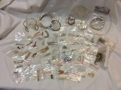 Jewellery Findings, Wires and Beads, Assorted Lot