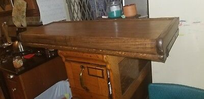 Antique Barrister Lawyers Bookcase Top