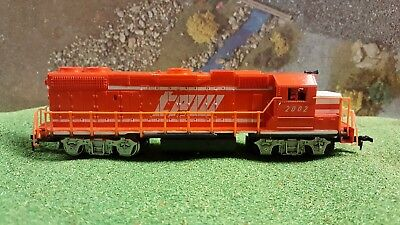 Life Like Gp-38-2 Powered Locomotive Ho Scale Toledo Petoria Western Excellent