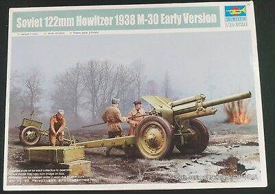 TRUMPETER® 02343 Soviet 122mm Howitzer 1938 M-30 Early Version in 1:35