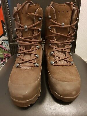 Haix Military Style Brown / Tan Boots Size 10- NEW