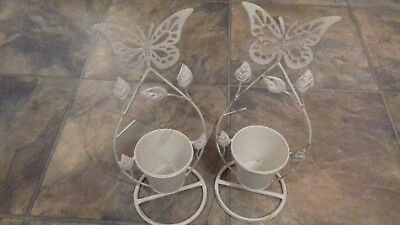 2 x Butterfly Planters