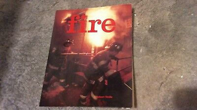 FIREFIGHTING BOOK - FIRE by ROBERT STELLA - 1987 - SOFTBOUND - EXCELLENT COND.