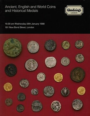 Ancient, English &  World Coins & Historical Medals Auction Catalogue