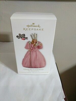 2011 Hallmark Keepsake The Wizard Of Oz Glinda The Good Witch Ornament New