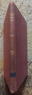 1901 Historical Atlas 3800 B.C. to 1900 A.D. Book Labberton Maps World Antique