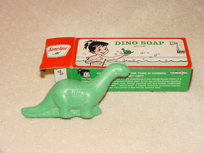 Vintage Sinclair Castile Dino the Dinosaur Soap in Original Box