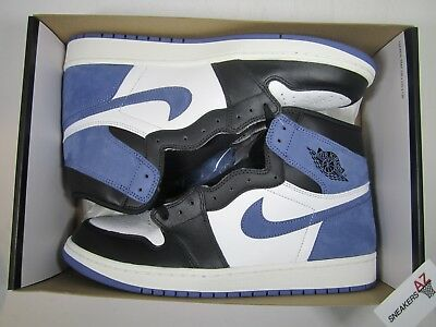 e39263d986b0cf Nike Air Jordan 1 Retro High OG Blue Moon DS New Size 12 555088 115 +