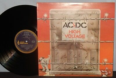 Ac Dc 1975 Hard Rock Australia Import Lp High Voltage Clean Vg+ Vpi Nr