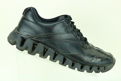 8ecafa499b45cb Reebok ZigTech Men s Black Athletic Running Sneakers Shoes size 11 M AJ1