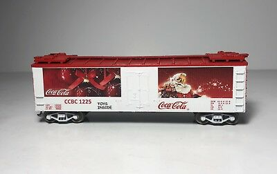 "Athearn HO Scale 40' Woodsides Ice Car ""Coca-Cola"" Christmas Advertising Custom"