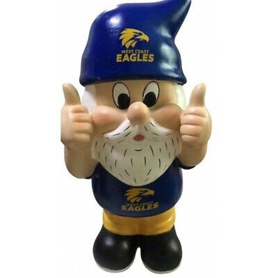 West Coast Eagles Official AFL Thumbs Up Garden Gnome Gift Box 30cm
