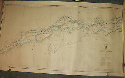 1937 Large St. Lawrence River (Map) Chart #11