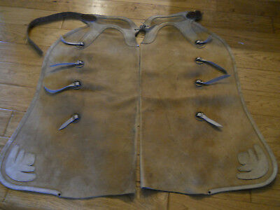 Vintage 1935 Hamley Batwing Chaps #6806 Special Order Step In Style Maker Marked