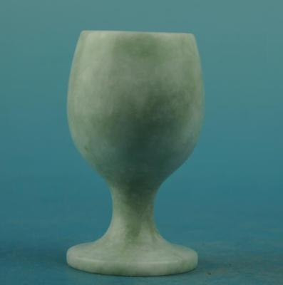 chinese old natural jade hand-carved cup a01