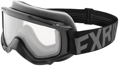 FXR YOUTH Childs Kids THROTTLE GOGGLES - Black Ops  - Brand New