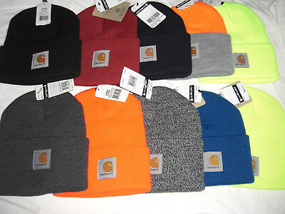 Carhartt Beanie Toque Watch Hat Choose Color One Size Fits Most