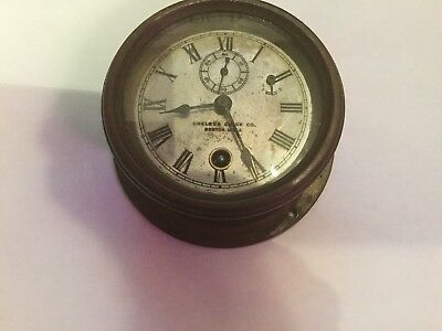 Chelsea Clock 1907 3 1/2 Inch Motor. With Document
