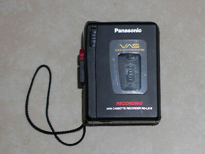 USED Panasonic Cassette Player / Recorder RQ-L319