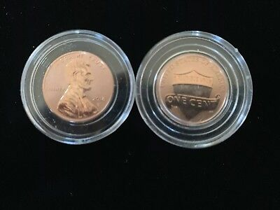 2018 S Reverse Proof Lincoln Shield Cent Rare only 200K Minted Pristine Example