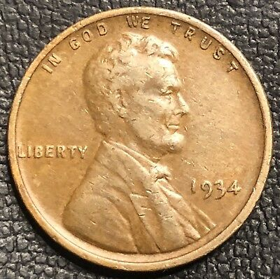 1934 Lincoln Wheat Cent DDO FS-101 (013.79) **Coin Error** **doubled Die Penny**