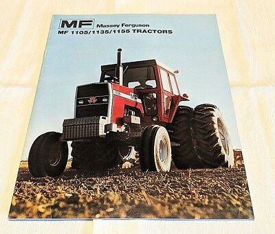 1976 MASSEY FERGUSON 245 Tractor 2 Page THE NEW MF 245 YOU