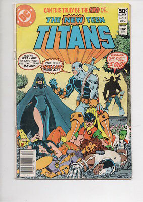 NEW TEEN TITANS #2 comic book/from 1980/1st DEATHSTROKE/Only $9.95!