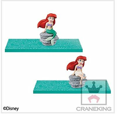 Disney Characters MEGA World Collectible figure Little Mermaid Ariel set story 6