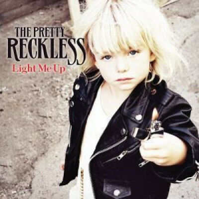 PRETTY RECKLESS Light Me Up CD Europe Interscope 2010 10 Track CD (602527465722)